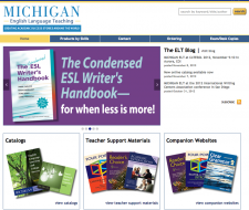Post image for New and improved MICHIGAN ELT website