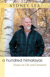 "cover of ""A Hundred Himalayas"" by Sydney Lea"