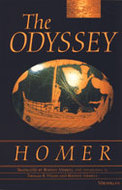 "cover of ""The Odyssey"" translated by Rodney Merrill"